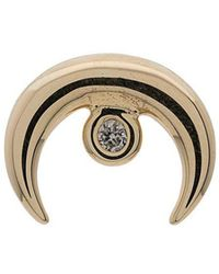 Jacquie Aiche - Moon Singular Diamond Earring - Lyst
