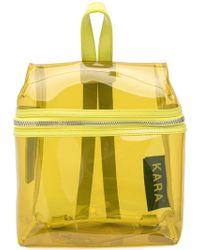 Kara - Transparent Backpack - Lyst