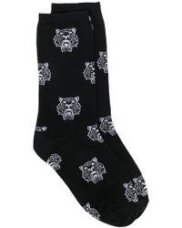 KENZO - Tiger Motif Socks - Lyst