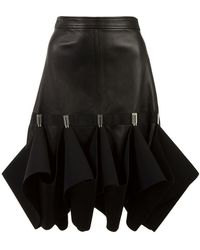 Dion Lee - Hook Ruffle Detail Skirt - Lyst