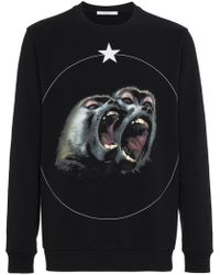 Givenchy - Monkey Brothers Jumper - Lyst