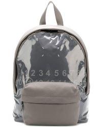 Maison Margiela - Vynil Detail Backpack - Lyst