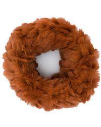Yves Salomon - Sheared Knit Snood - Lyst