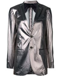 R13 - Fitted Blazer Jacket - Lyst