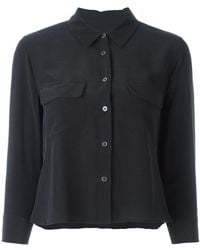 Equipment - Flap Chest Pockets Shirt - Lyst