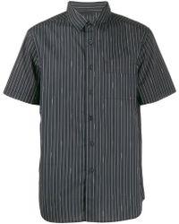 Saturdays NYC - Camisa con motivo de rayas con logo - Lyst