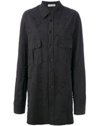 Faith Connexion - Embellished Shirt Jacket - Lyst