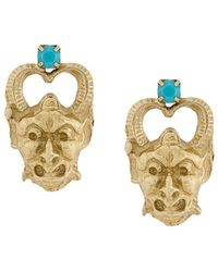 Iosselliani - Puro Satyr Earrings - Lyst
