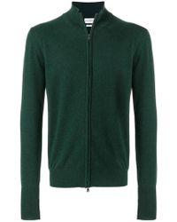 Ballantyne - Roll-neck Zip Sweater - Lyst