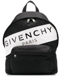 Givenchy - Logo Stripe Backpack - Lyst
