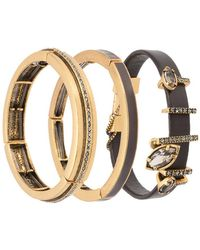 Camila Klein - Three Bracelets Set - Lyst