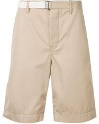 Sacai | Belted Cargo Shorts | Lyst