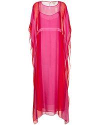 DHELA - Kaftan Long Dress - Lyst