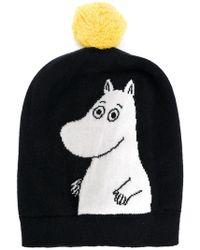 Chinti & Parker - Moomin Peekaboo Intarsia Beanie - Lyst