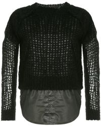 Sonia Rykiel - Cropped Sweater - Lyst
