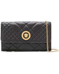 Versace - Quilted Shoulder Bag - Lyst