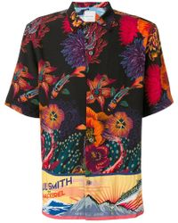 Paul Smith - Floral Print Shirt - Lyst