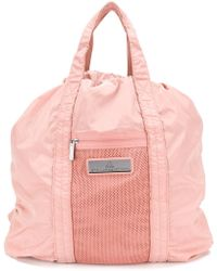 adidas By Stella McCartney - Mesh Panel Gym Tote - Lyst