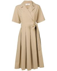 Pringle of Scotland - Pleated Tennis Dress - Lyst