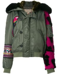 History Repeats - Patchwork Jacket - Lyst