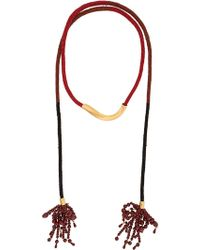Marni - Lyriat Beaded Necklace - Lyst