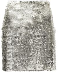 Misha Collection - Short Fitted Skirt - Lyst