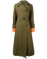 Bazar Deluxe - Double-breasted Coat - Lyst