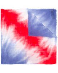 Armani - Tie Dye Scarf - Lyst