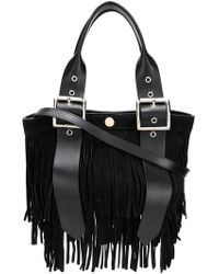 Sacai - Fringed Tote Bag - Lyst