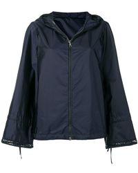 Moncler - Flare Sleeve Raincoat - Lyst
