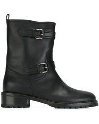 Unützer - Unützer Zipped Combat Boots - Lyst