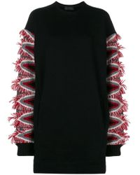 Diesel Black Gold - Denit Sweater Dress - Lyst