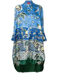F.R.S For Restless Sleepers - Tropical Print Drape Tunic - Lyst
