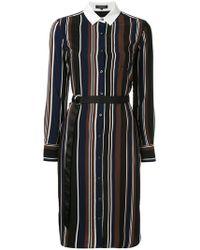 Loveless - Stripe Print Dress - Lyst