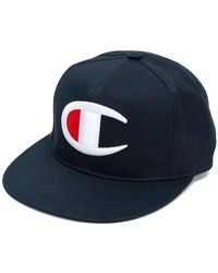 Champion - Logo Embroidered Cap - Lyst