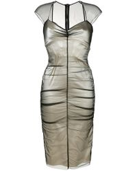 Tom Ford - Layered Fitted Dress - Lyst