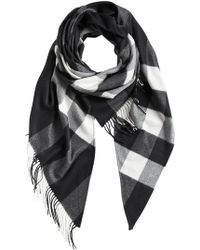 Burberry - Check Print Wrap - Lyst