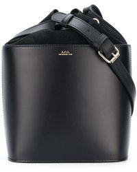 A.P.C. | Bucket Bag | Lyst