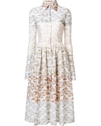 Sophie Theallet - 'paysage Terre' Dress - Lyst