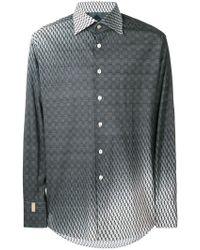 Billionaire - Gradient Pattern Print Shirt - Lyst