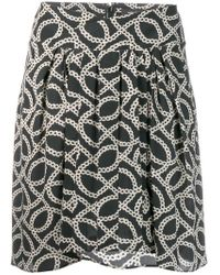 Isabel Marant - Pleated Short Skirt - Lyst