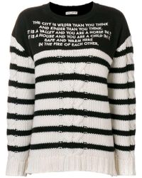 Each x Other - Mix Media Striped Sailor Jumper - Lyst