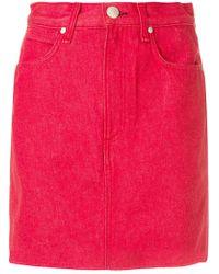 Rag & Bone - Short Fitted Skirt - Lyst