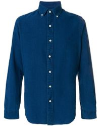 Ralph Lauren - Denim Buttondown Shirt - Lyst