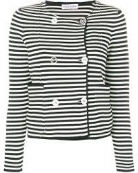 Sonia Rykiel - Striped Fitted Jacket - Lyst