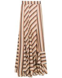 Amir Slama - Striped Long Skirt - Lyst