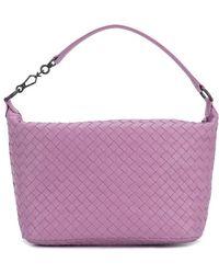Bottega Veneta | Small Intrecciato Boudoir Shoulder Bag | Lyst