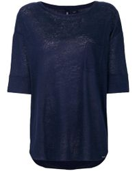 Woolrich - Loose Fit T-shirt - Lyst