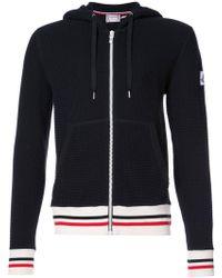 Moncler Gamme Bleu - Zipped Hooded Sweatshirt - Lyst