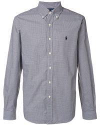 Polo Ralph Lauren - Checked Buttondown Shirt - Lyst